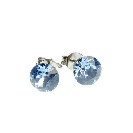 Cercei cu cristal Swarovski albastru