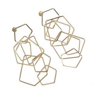 Cercei cu elemente geometrice - Cercei cu elemente geometrice