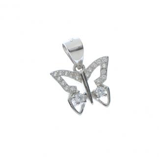 Pandantiv fluturas argint - Martisor