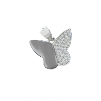 Pandantiv fluture argint - Martisor