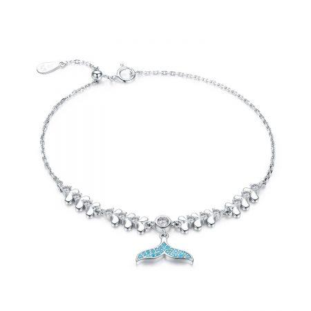 Bratara din argint Blue Mermaid's Tale