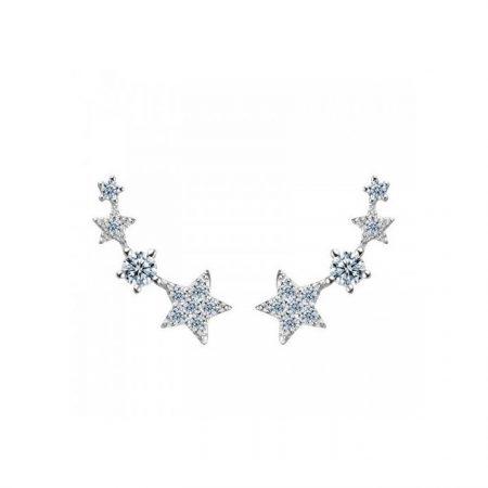 Cercei din argint Fashion Star