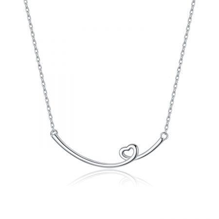 Colier din argint Heart Signature