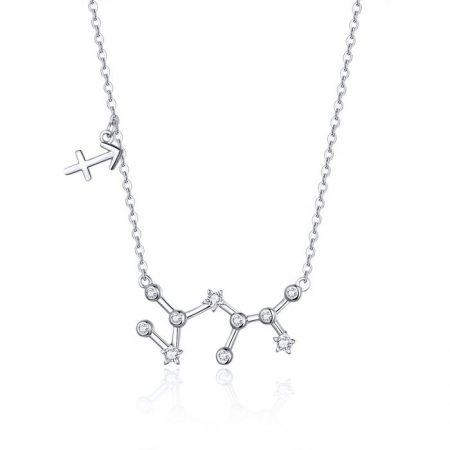 Colier din argint cu Constelatia Sagetator silver
