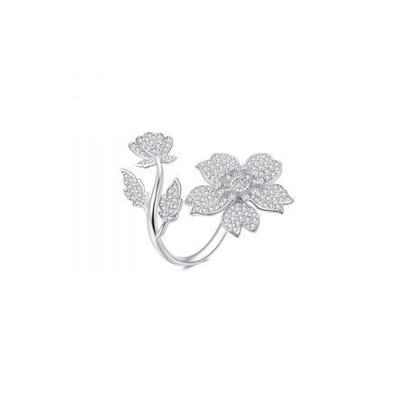 Inel din argint Glamour Cherry Blossom