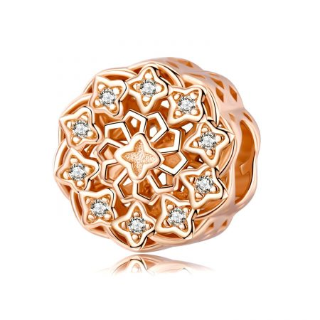 Talisman din argint Golden Mandala