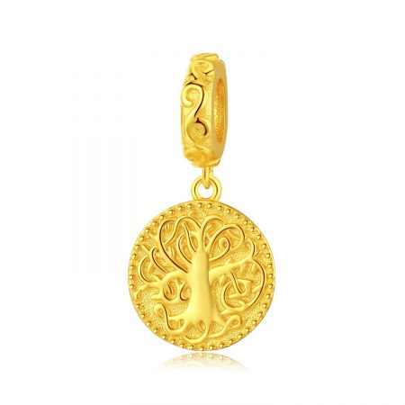 Talisman din argint Golden Tree of Life