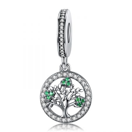 Talisman din argint Green Tree