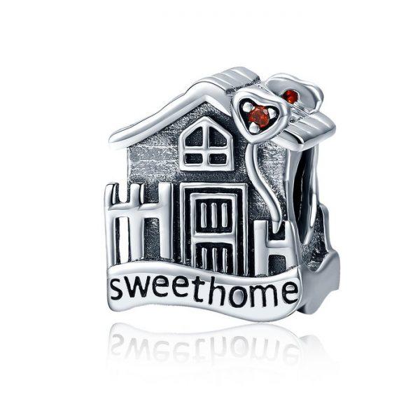 Talisman din argint Home Sweet Home