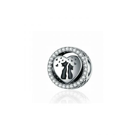 Talisman din argint In Love