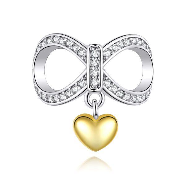 Talisman din argint Infinite Love