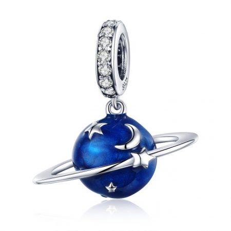 Talisman din argint My Blue Planet