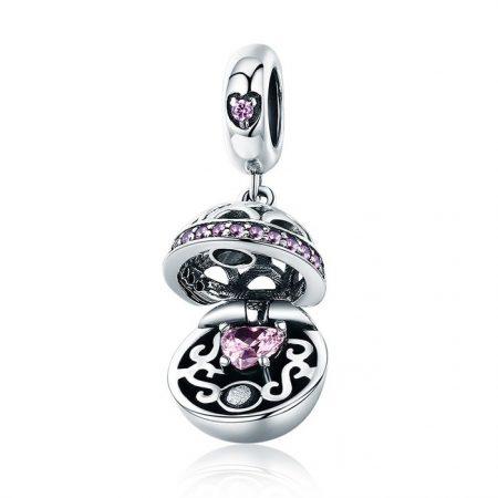 Talisman din argint Pandora's Box pink