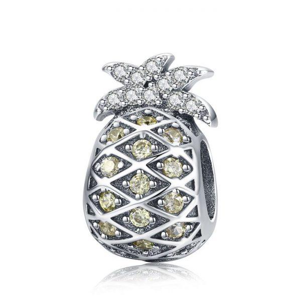 Talisman din argint Summer Pineapple